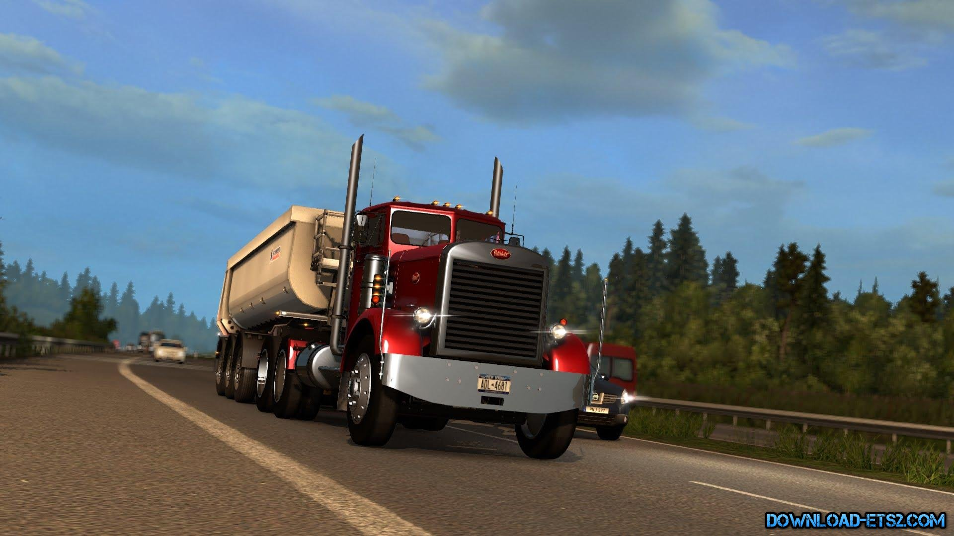 Detroit Diesel 6V-92TA/TTA sound mod for Peterbilt 351