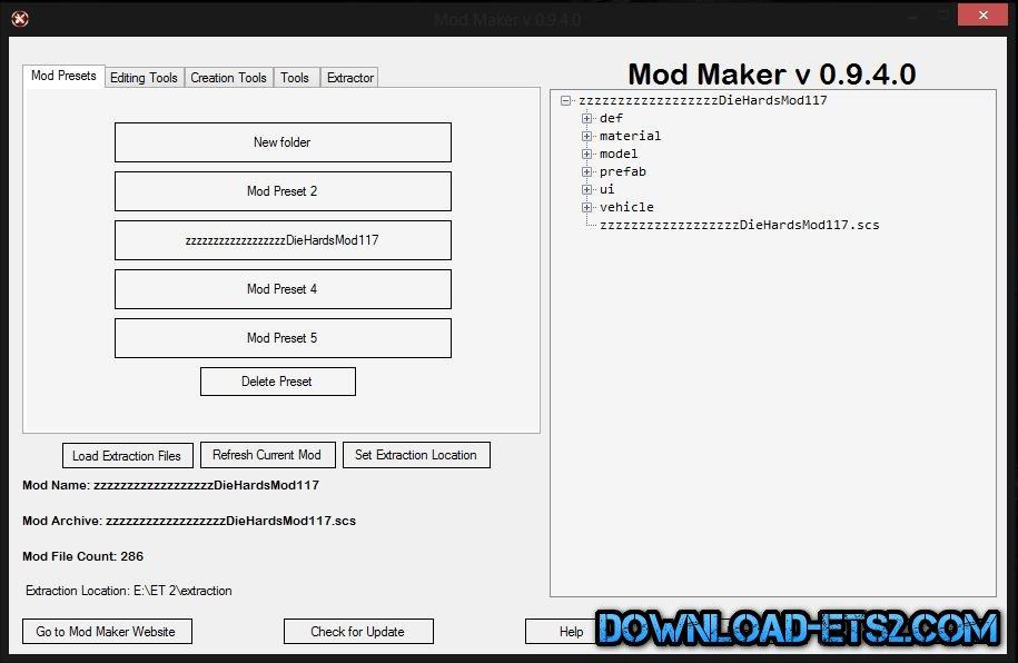 Ets2 Mod Maker
