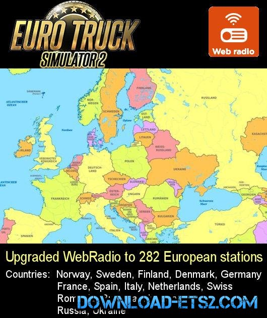 282 European Webradio stations 1.17