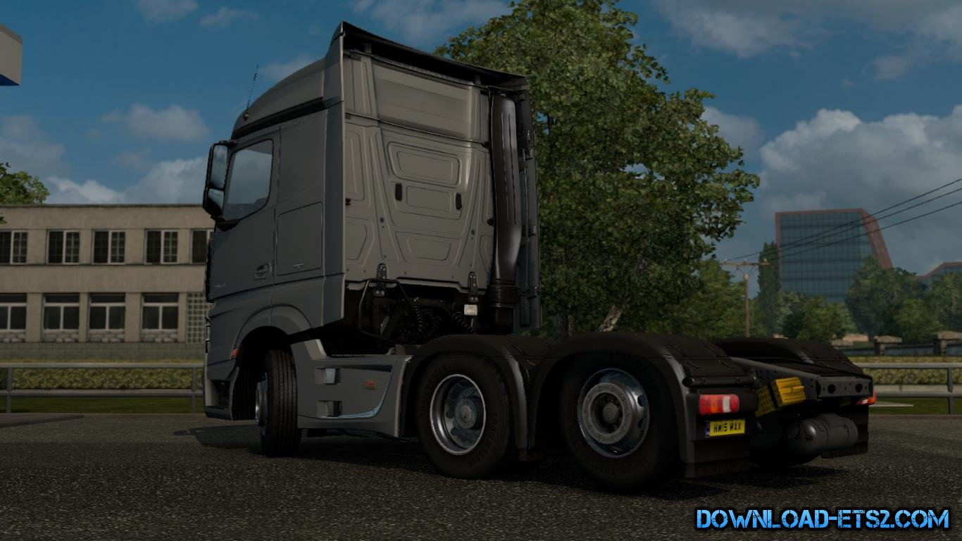 2 Axle Truck : Mercedes mp tag axle by maxlowe ets mods euro truck
