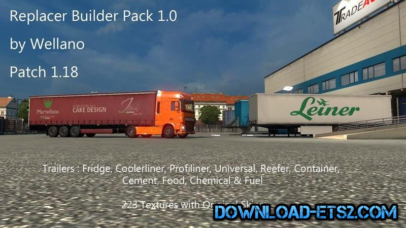 Replacer Builder Pack V 1.0 by Wellano