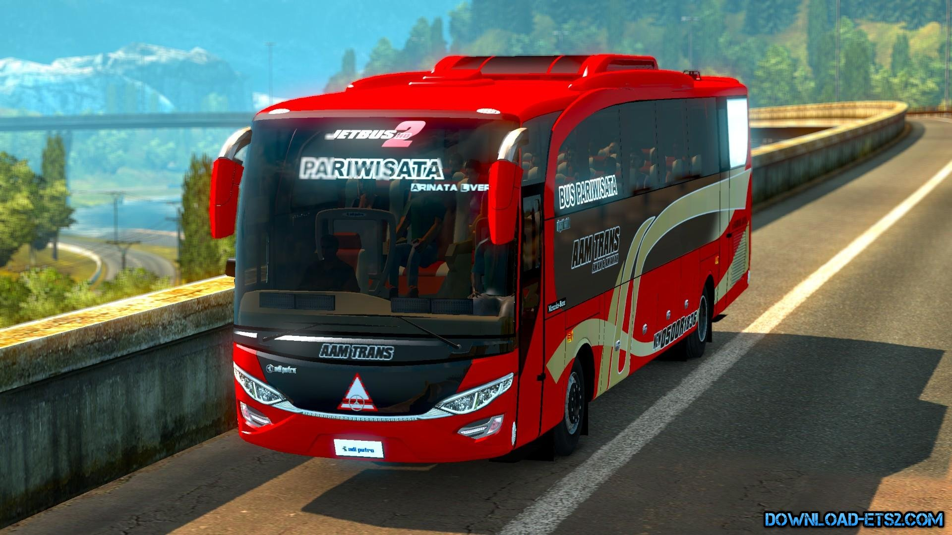 Mercedes Benz Jetbus 2 Review Beta 1.18