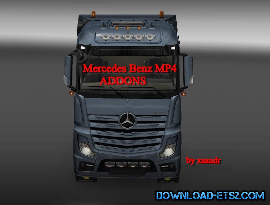 Mercedes Benz MP4  Addons