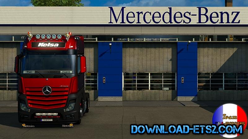 Mercedes Actros MPIV Final Standalone [1.18]