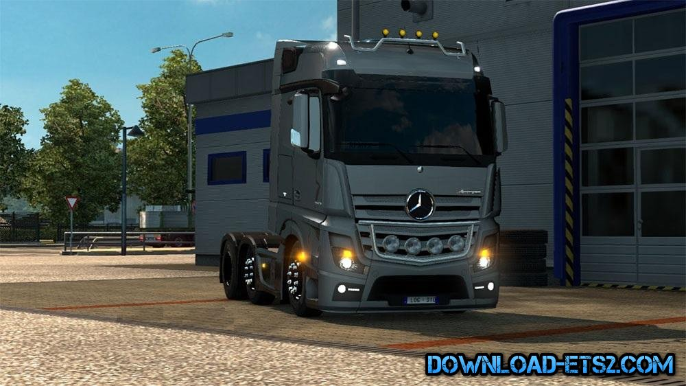 MB New Actros Lower by RPaiva and Badeko