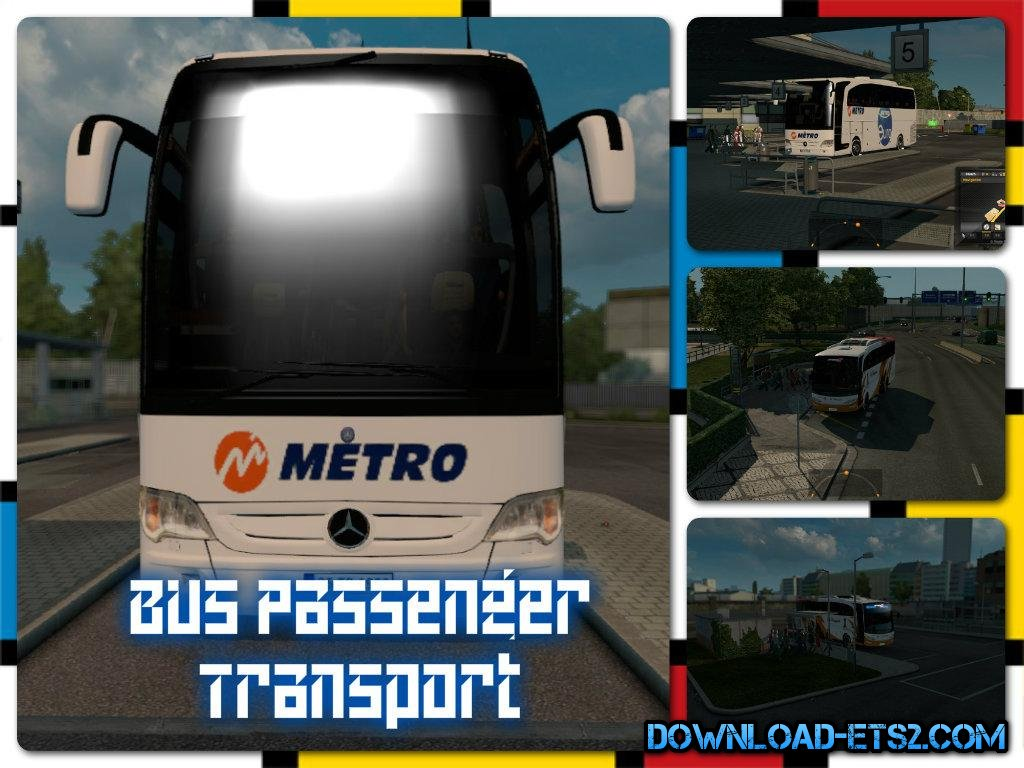Bus Passenger Transport and Terminal Mode (1.18.x)