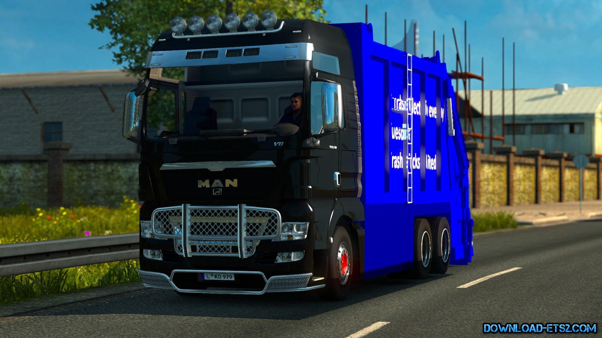 MAN TGX GARBAGE TRUCK [TESTED ON v1.18]