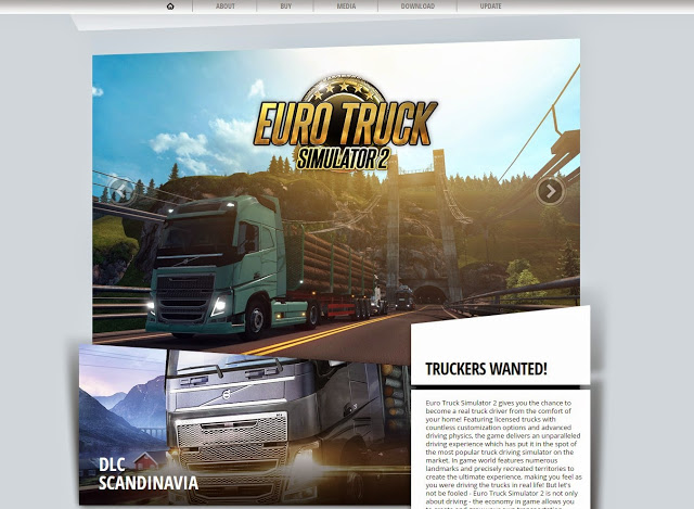Euro Truck Simulator 2 Website Relaunched