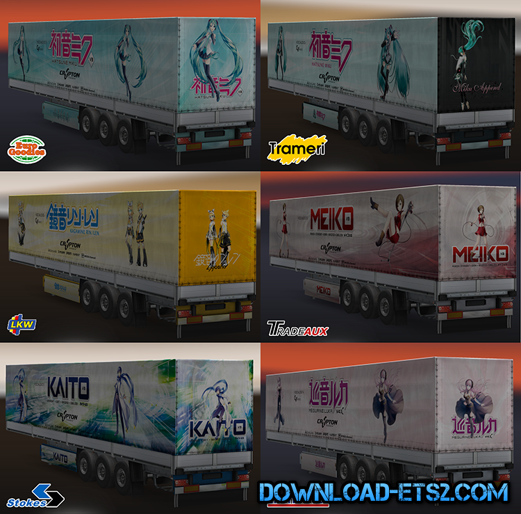 VOCALOID TRAILERS PACKS V1.1