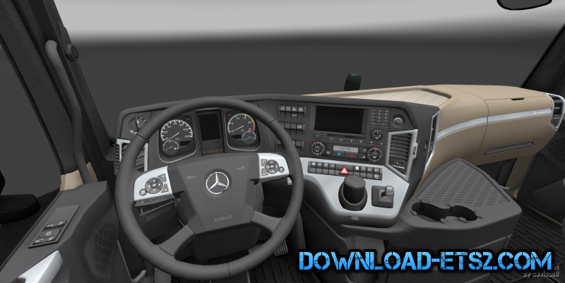 Realistic New Actros interior - 1.0