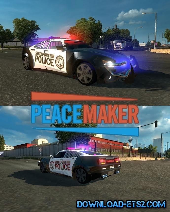 PEACEMAKER CAR IN TRAFFIC By Alkonavt96 » ETS2 Mods