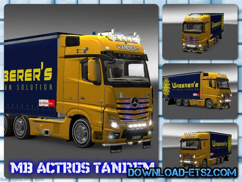 ACTROS 2014 TANDEM & TUNING [1.18]