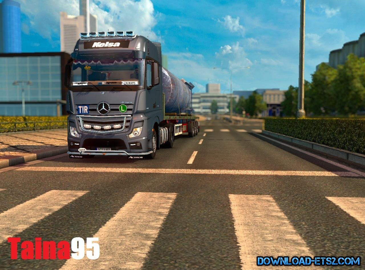 Mercedes Actros Mp4 v1.0 by Taina95