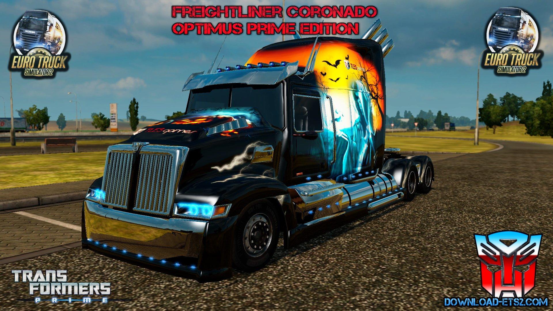 Freightliner Coronado Optimus Prime Trasnsformers 4 [1.22.хх] Upgrade!