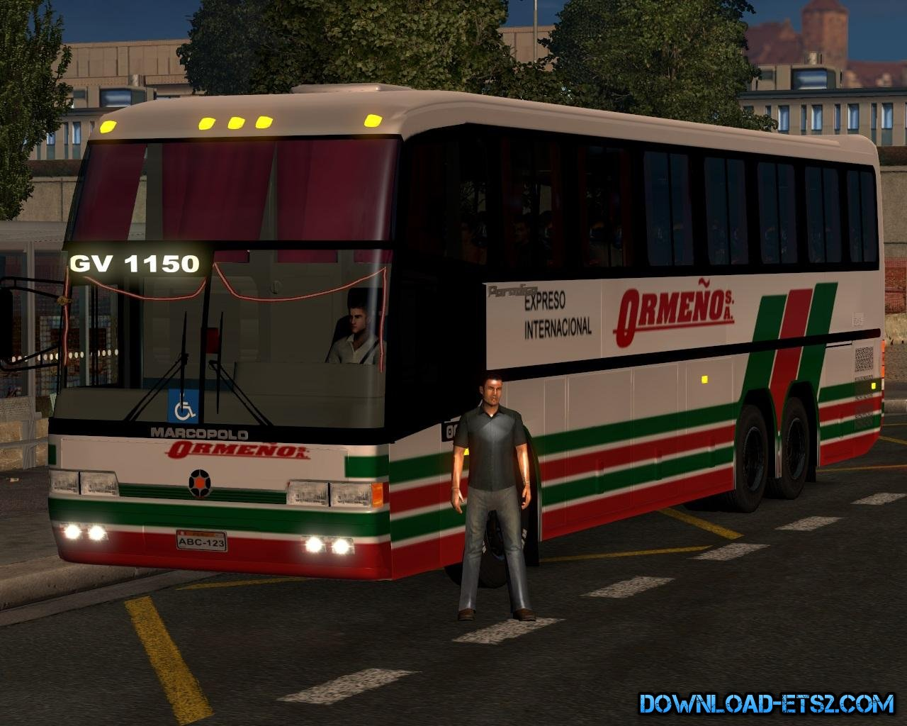 Bus MB GV 1160 (Beta) for ETS2