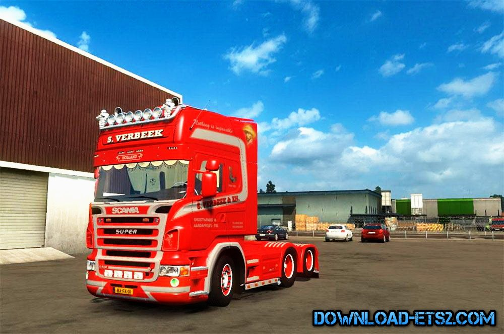 Scania Verbeek Edition v1.0 (1.18.x)