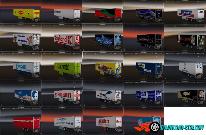 LAMBERET TRAILER PACK V1.0 by Guns ´N´ Drivers