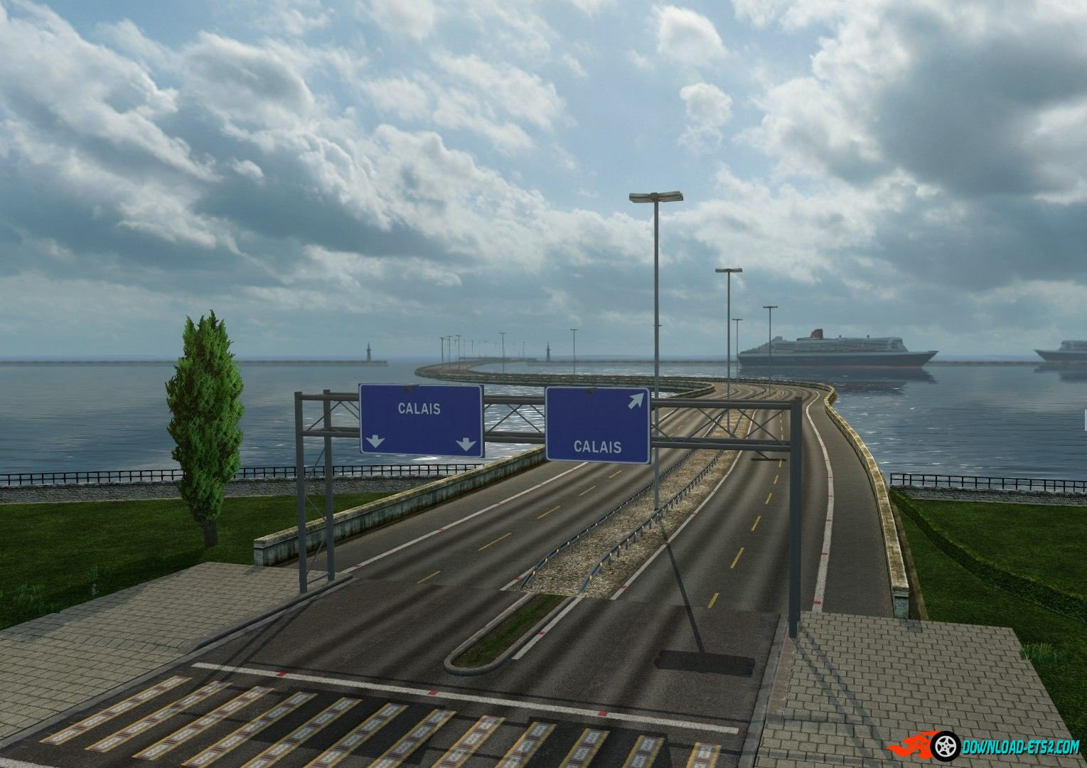 BRIDGE FROM CALAIS TO DOVER AND CITY ON ISLAND V5.0 by anto007