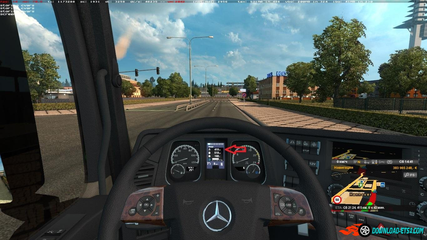 MERCEDES 2014 DISPLAY EDIT 1.18.1S+
