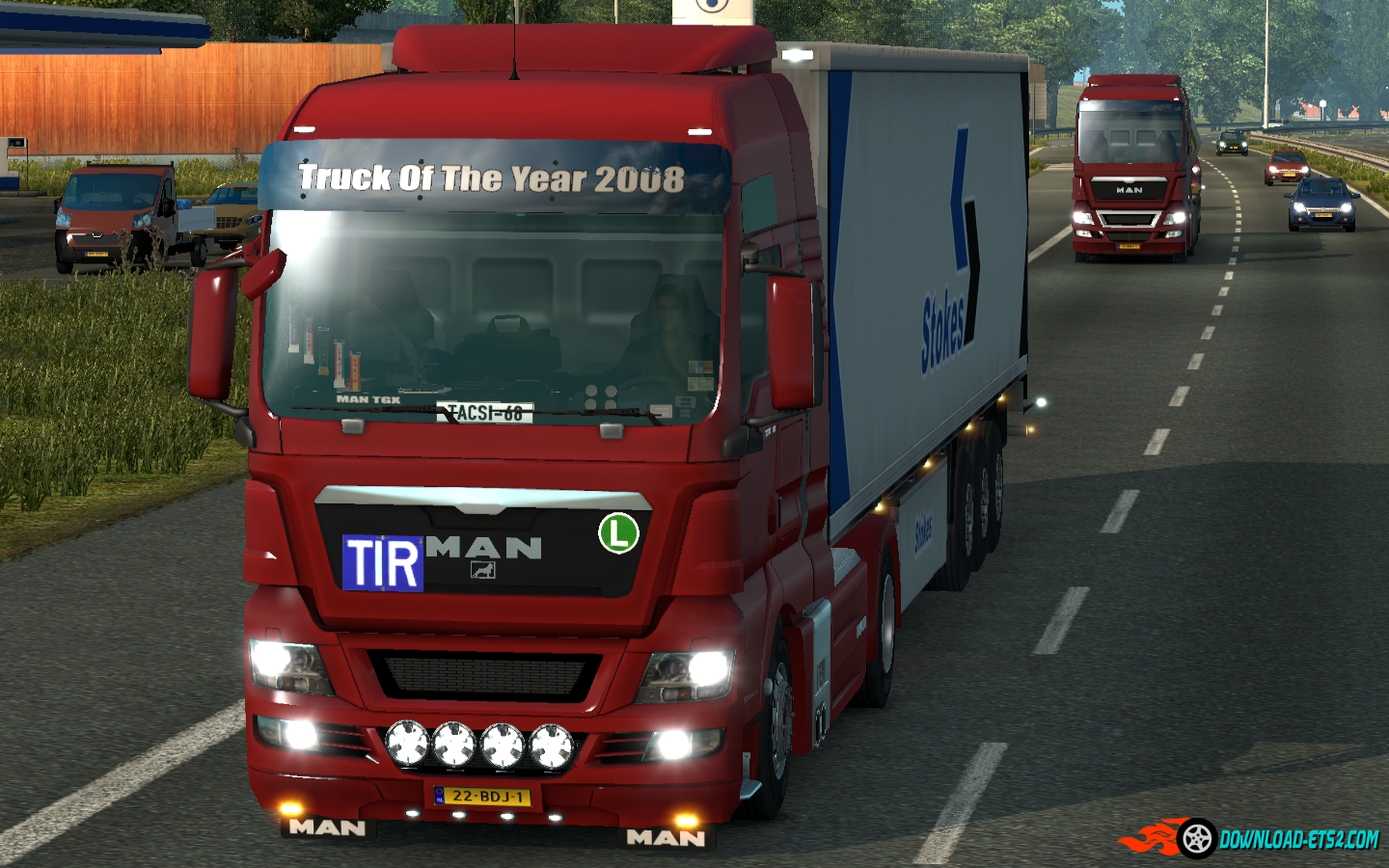 Man TGX sound mod by Paulnice