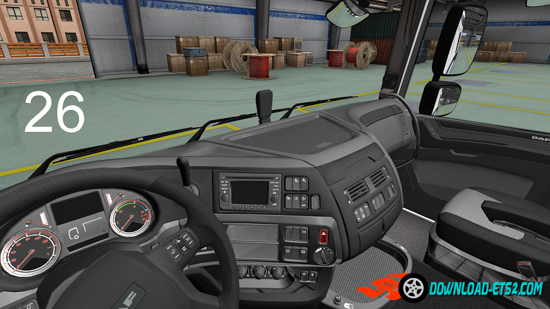 DAF XF Euro 6 Interior Reworked Pack by Borsuk