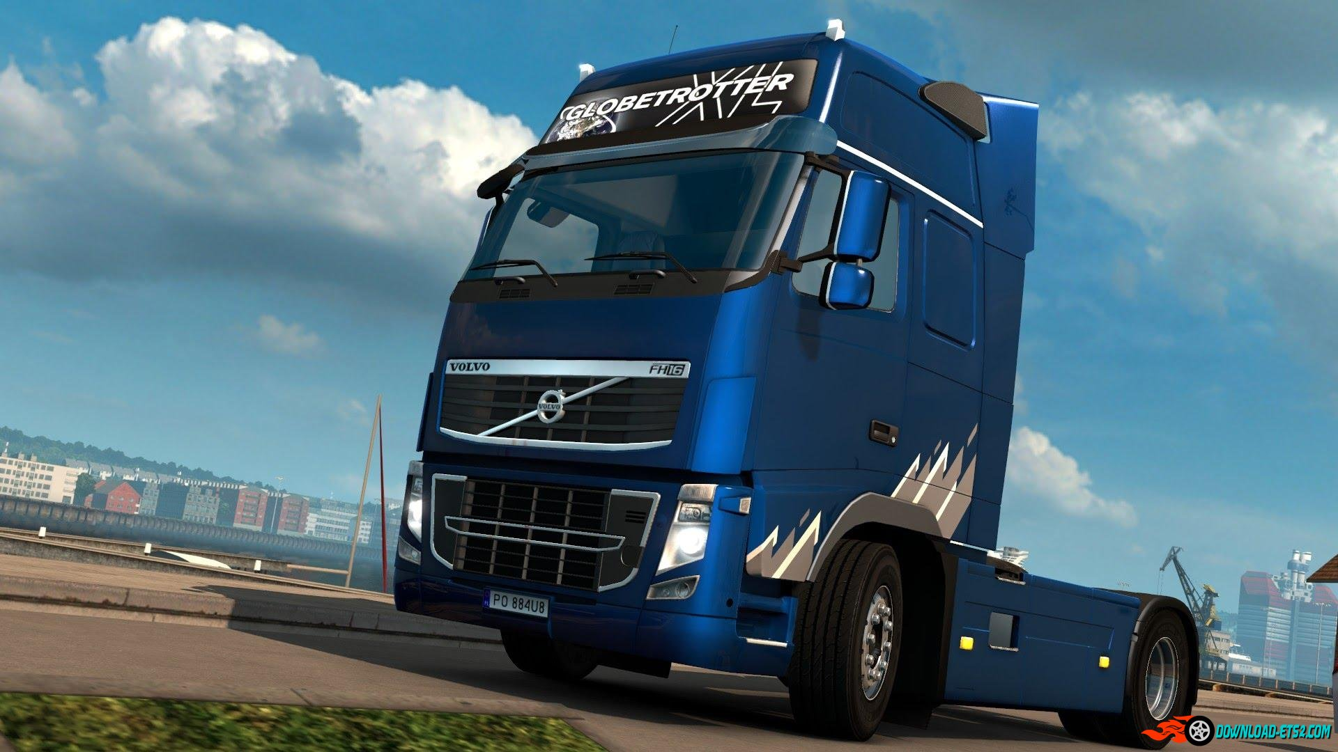 Volvo FH 2009 Ocean Race Limited Edition Skin by Borsuk