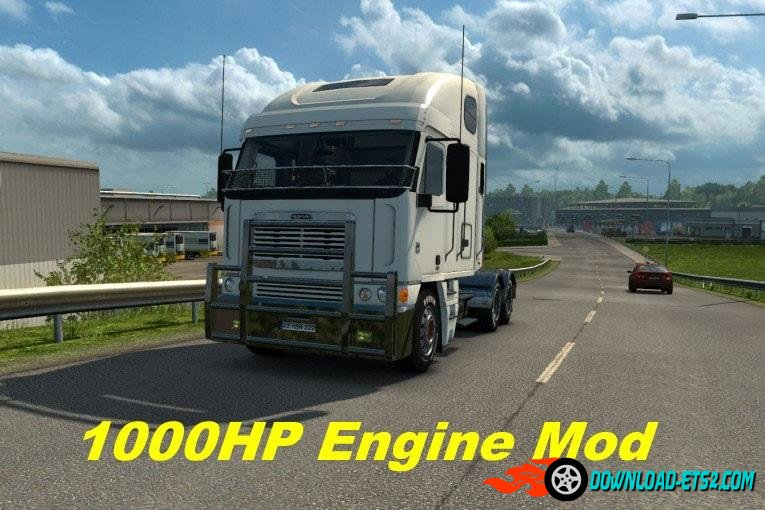FREIGHTLINER ARGOSY 1000HP ENGINE MOD by BLiNKT