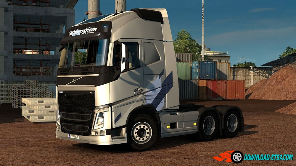Volvo FH 2012 Ocean Race Limited Edition Skin by Borsuk