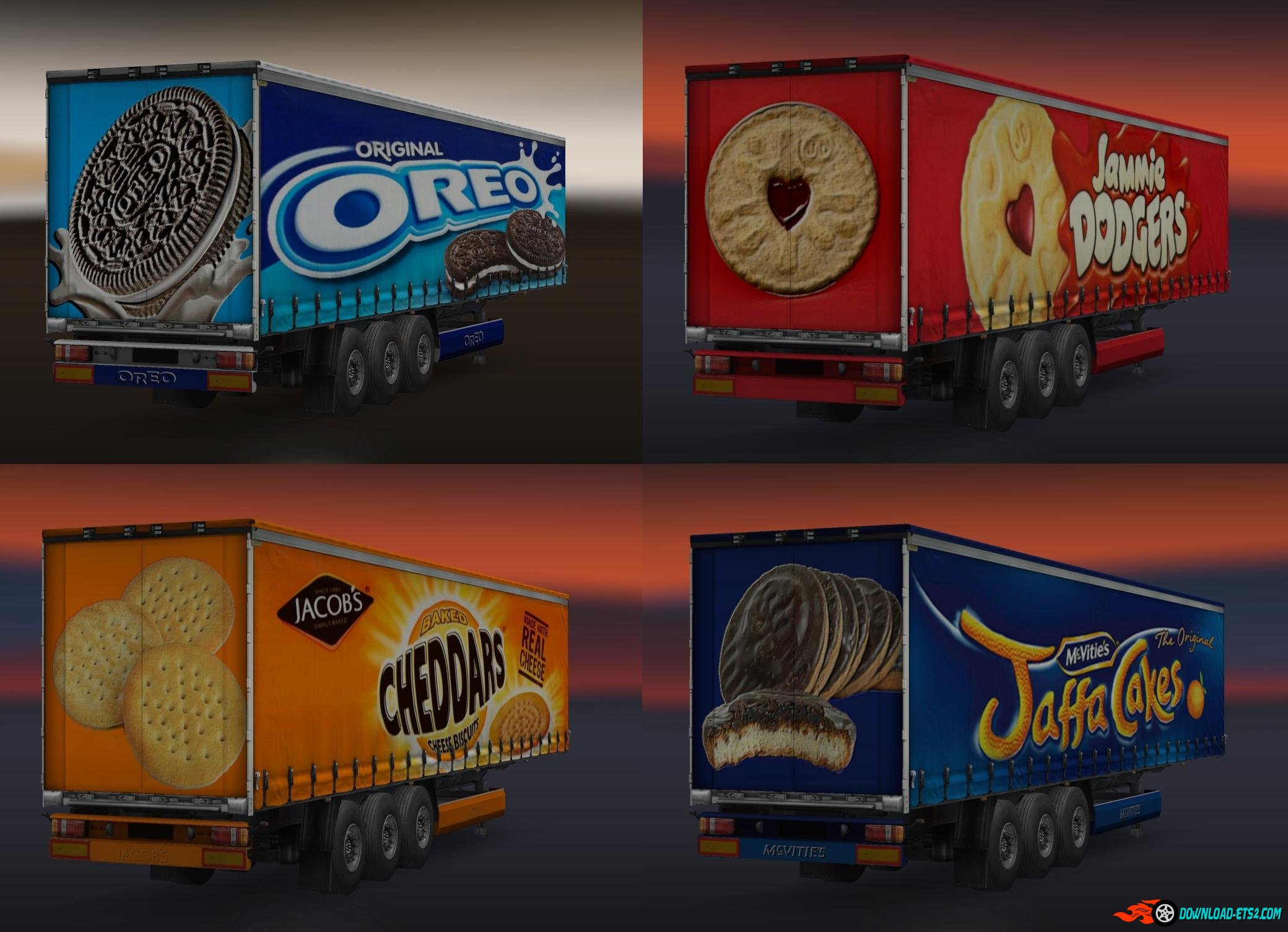 BISCUIT TRAILERS PACK by Shadders62