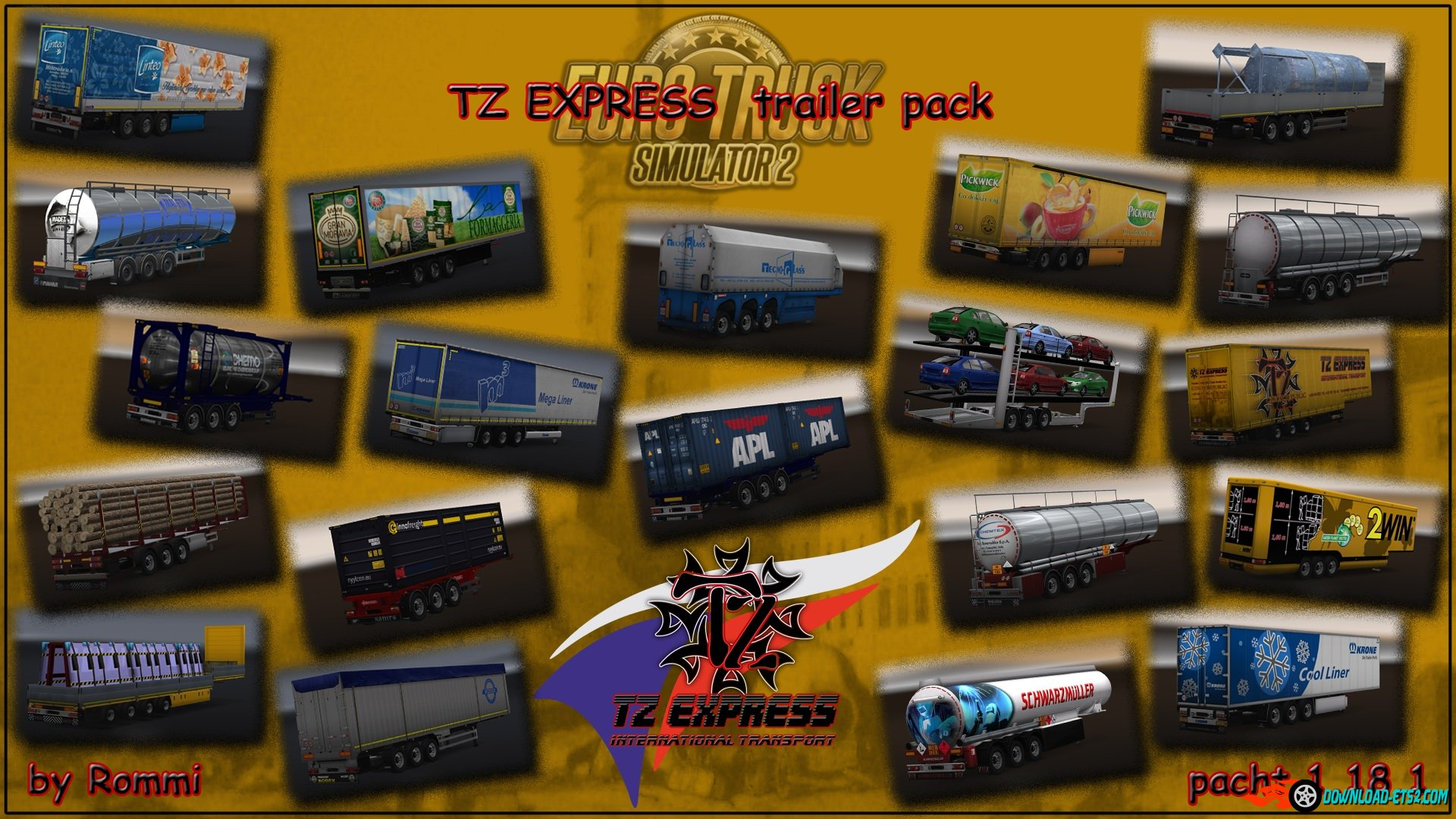TZ Trailers Pack (updated) for v1.18.1