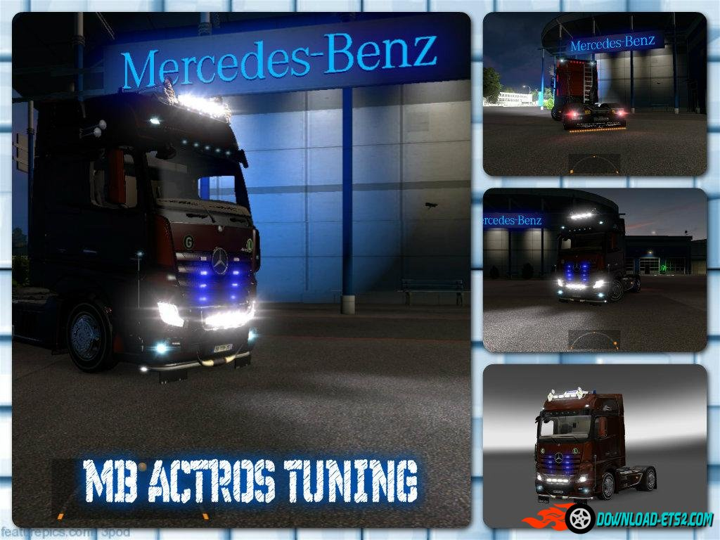 Mercedes Actros 2014 Tuning[1.18]