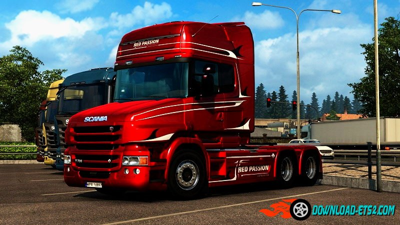 Scania T Red Passion Limited Edition Skin v2.0 by Borsuk