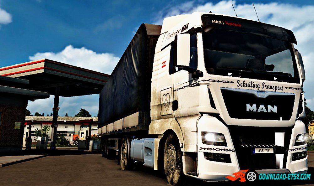 MAN TGX Euro 6 Dirty Skin by Stagg