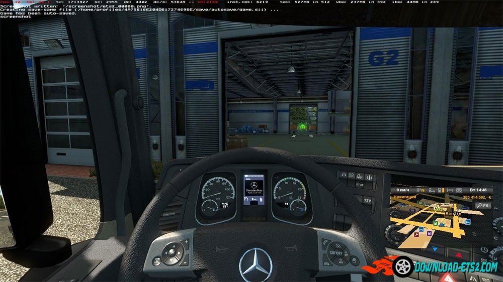 Mercedes Display Edit v1.1 by  Shineslip