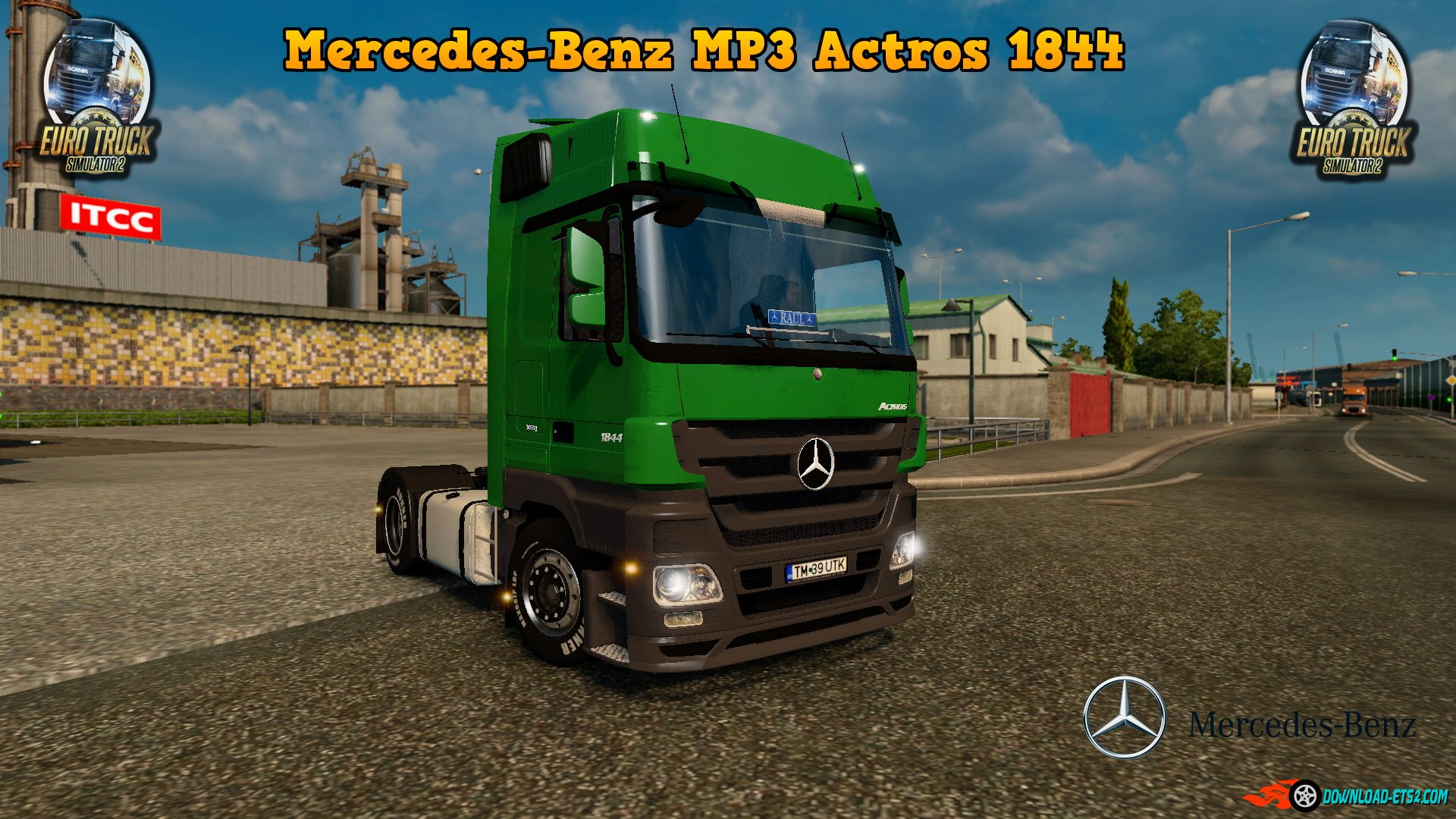 Mercedes MP3 Actros 1844 by The4Farming