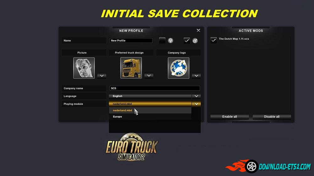 INITIAL SAVE MOD COLLECTION by BLiNKT