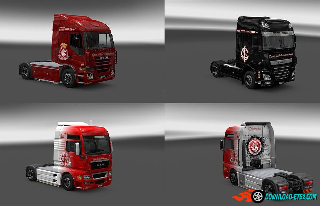 INTERNACIONAL MEGA PACK OF SKINS by  iconRJ