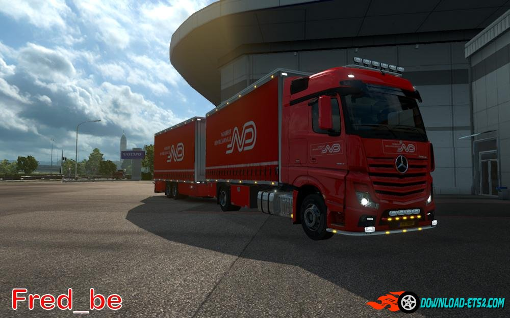 Mercedes Actros 2014 Tandem Norbert Dentressangle[1.18]
