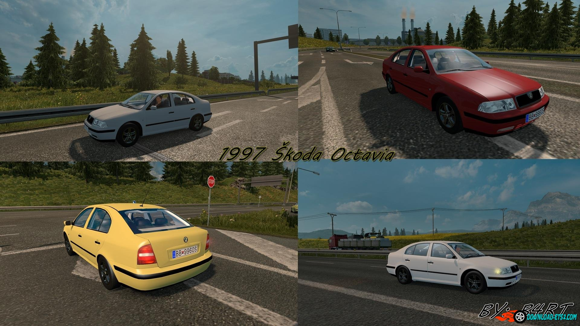 1997 SKODA OCTAVIA AI Traffic by B4RT