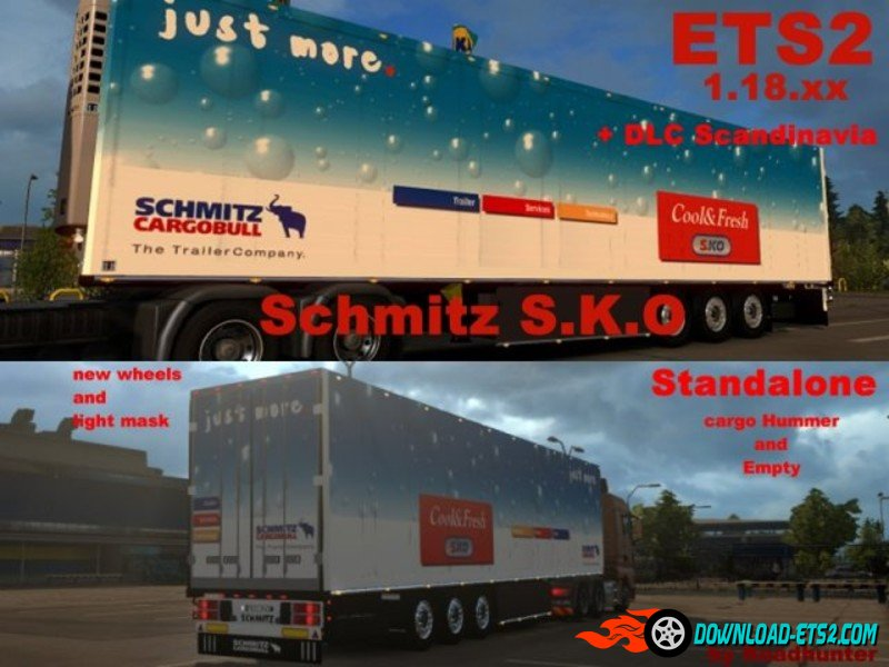 Schmitz S.KO Cargo Trailer by Roadhunter