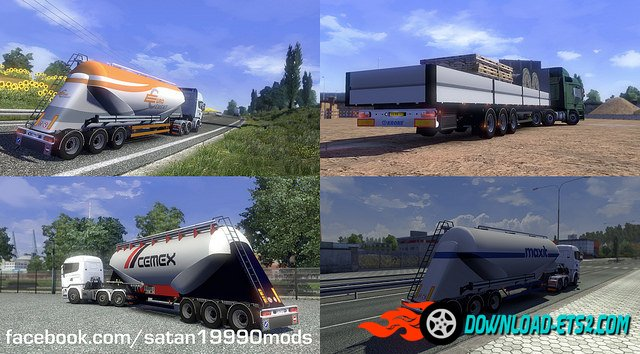 Trailer Mod Pack v3.6 by satan19990