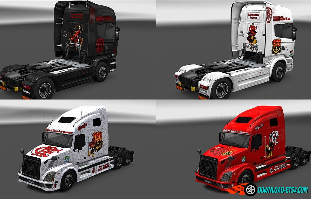 FLAMENGO ULTRA MEGA PACK OF SKINS by iconRJ
