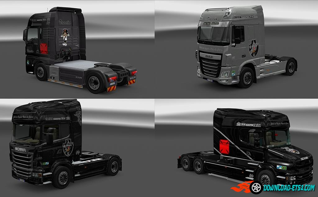 VASCO DA GAMA MEGA PACK OF SKINS by iconRJ