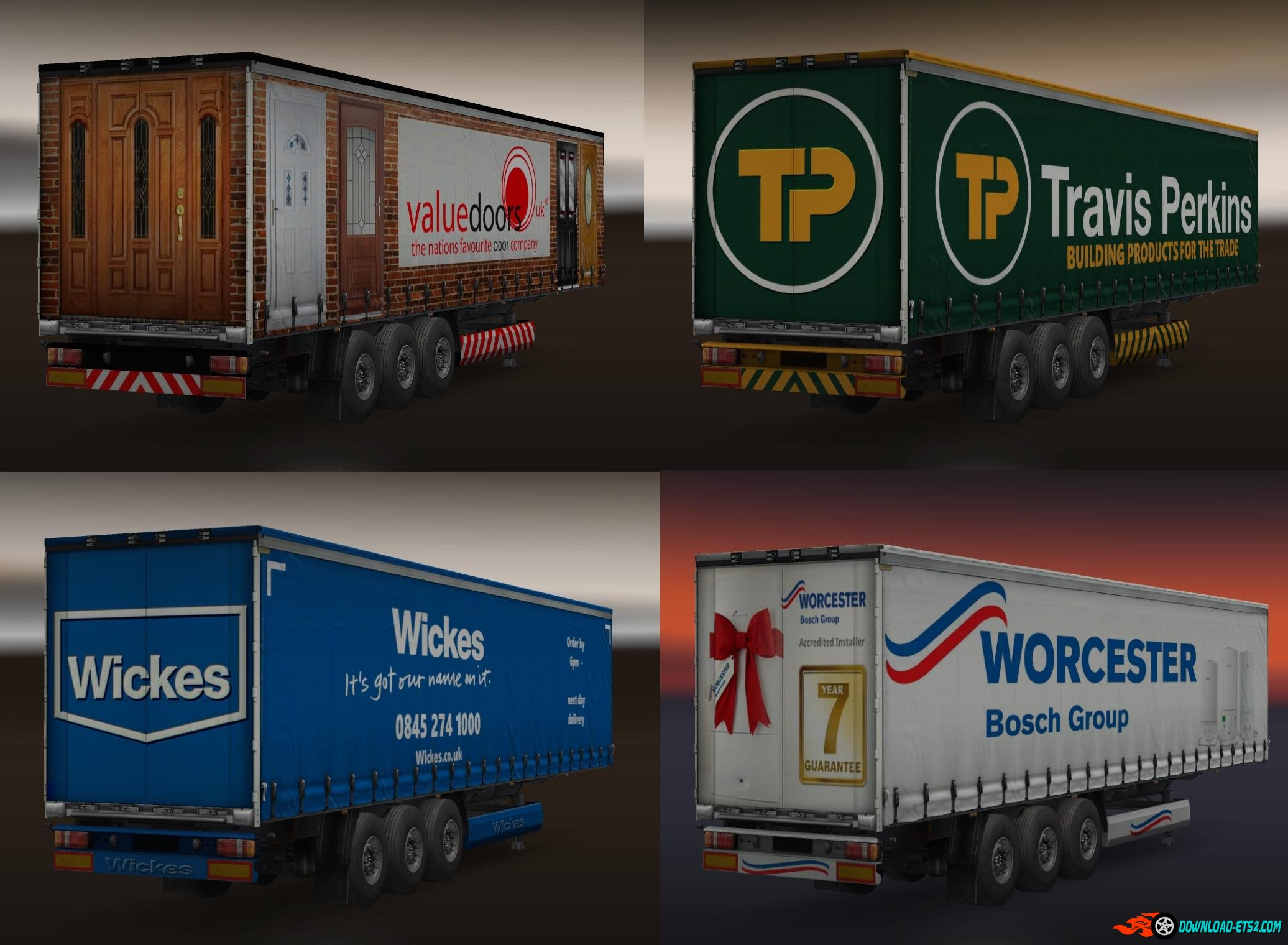 BUILDING SUPPLIES TRAILER PACK