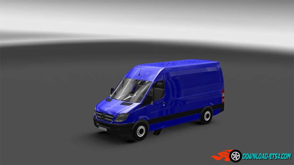 MERCEDES SPRINTER [1.18] WITH TEMPLATE