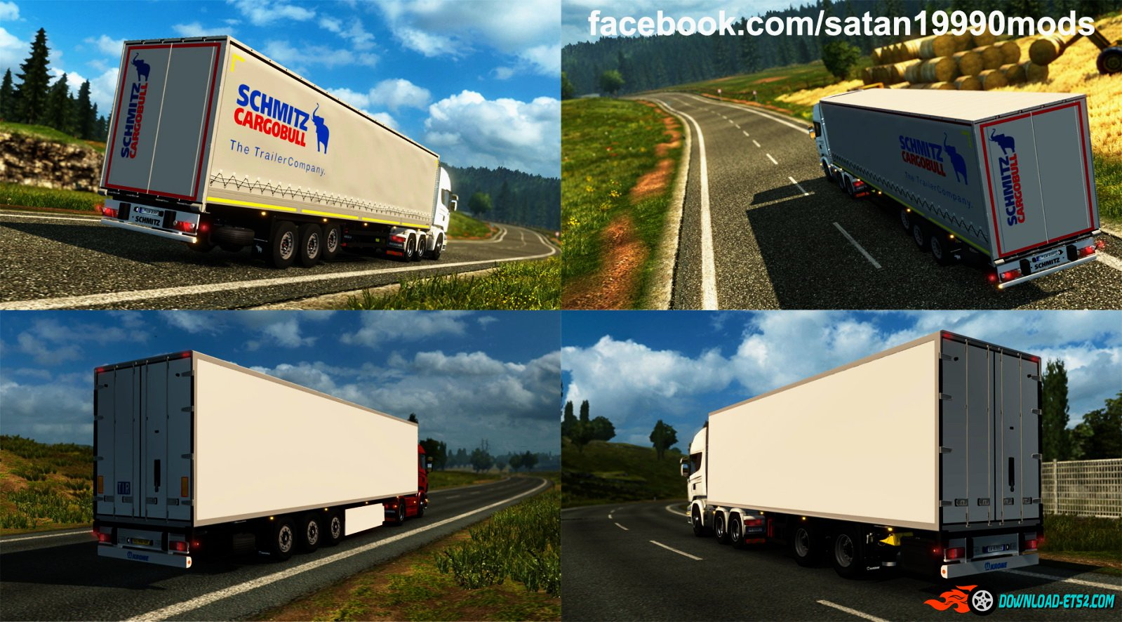 Trailers Mod Pack v3.6 by satan19990