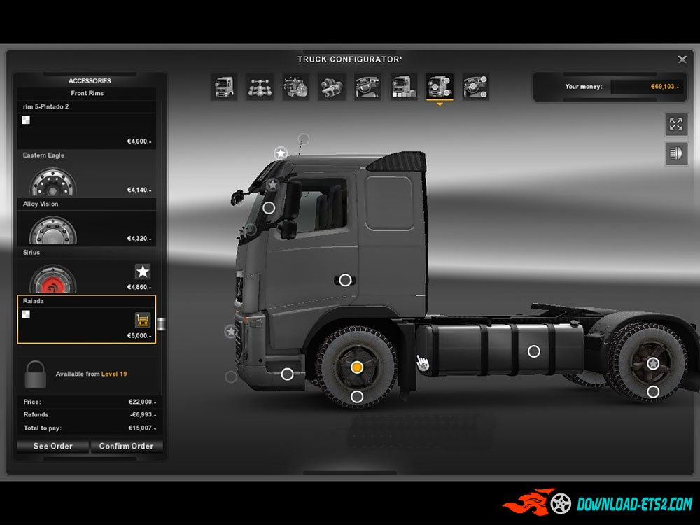 Rims & Tires for all Truck by nima1371