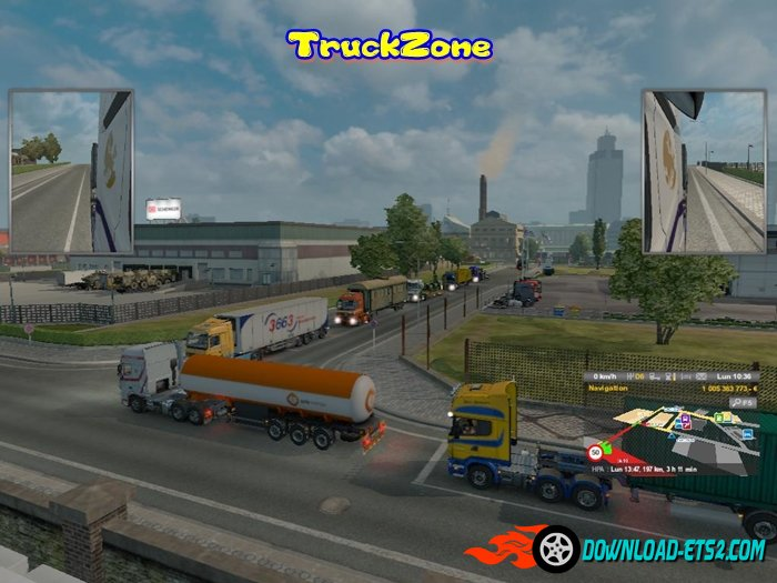 More Traffic More Trucks Skinned v 2.1 By TruckZone