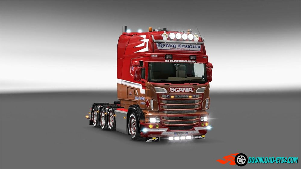 """Ronny Ceusters"" skin for Scania RJL"