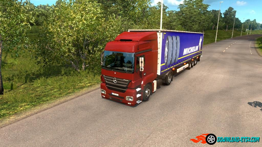 MERCEDES BENZ AXOR ULTIMATE MOD UPDATE